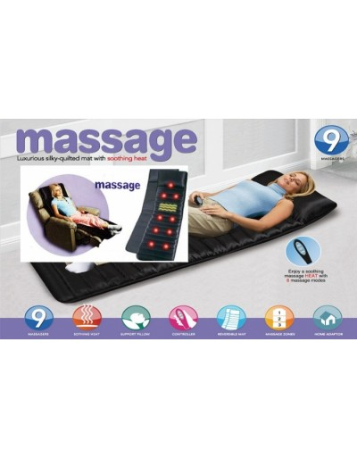 Body massage mat