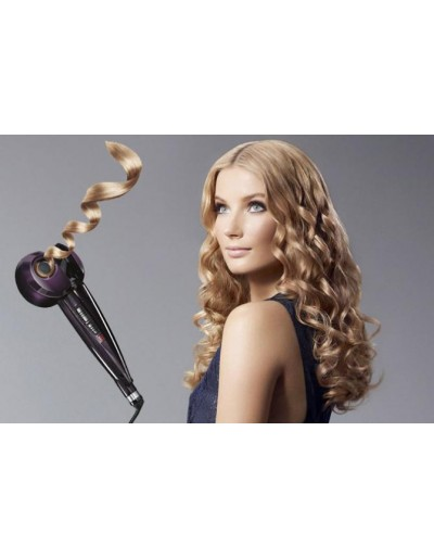 Hair curling tongs with...