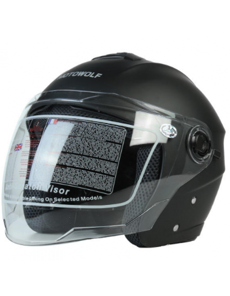 Motorcycle Open Face Helmet...