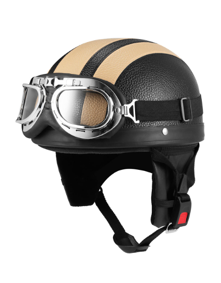 Motorcycle Helmet With...